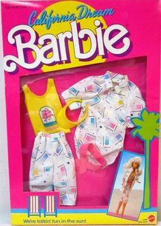 California Dream Barbie Fashions Pack