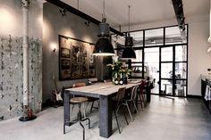 Loft in stile industriale ad Amsterdam Living Corriere
