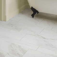 MARAZZI VitaElegante Bianco 12 in. x 24 in. Porcelain Floor and Wall Tile (15.6 sq. ft. / case) ULRS1224HD1PR at The Home Depot - Mobile