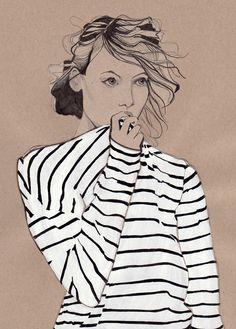 Dessin de Mode - Illustration de Mode - Daphne van den Heuvel