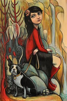 Paintings by Kelly Vivanco {Part 2} (11 photos) - Xaxor