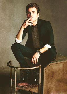 The Vampire Diaries Paul Wesley(Stefan) Vampire Diaries Stefan, Paul Wesley Vampire Diaries, Vampire Diaries Cast, Vampire Diaries The Originals, Stefan Tvd, Channing Tatum, Daniel Craig, Ian Somerhalder, Eminem