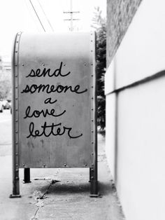Send someone a love letter - postbox