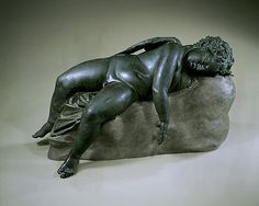 Sleeping Eros (Hellenistic, 3rd-2nd century BC) - Met exhibition