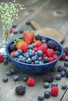 Yummy summer-berries