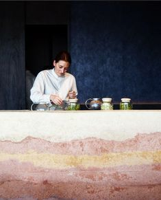 Rene Redzepi recently open one of the world's best restaurant in Sydney. 'noma' Australia is located at Barangaroo in Sydney. We were commissioned to build two bars and an entry …