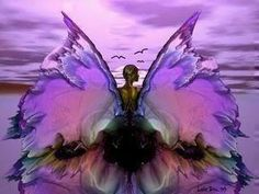 Browse angel wings pictures, photos, images, GIFs, and videos on Photobucket Purple Love, All Things Purple, Purple Rain, Pink Color, Fairy Dust, Fairy Land, Fairy Tales, Magic Fairy, Karma