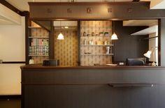 美容室 デザイン GOLD SCISSORS | Tracks 美容室の内装デザイン/店舗設計【トラックス】