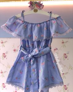 Image may contain: people standing Cute Baby Dresses, Cute Baby Girl Outfits, Kids Outfits, Girls Dresses, Fashion Kids, Toddler Fashion, Baby Girl Frocks, Frocks For Girls, Baby Girl Drawing