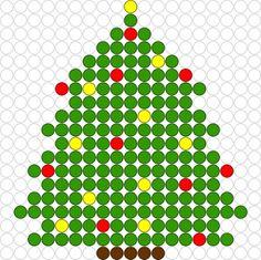 Kralenplank Kerstboom 2