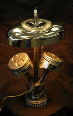 Pistons Lamp