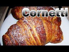 Brioches, Cornetti, Croissant, FACILI - Senza Sfogliatura - - YouTube