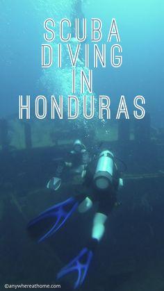 Scuba Diving in Roatan.