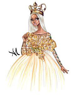 Nicki Minaj - by Armand Mehidri