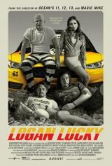 LOGAN LUCKY POSTER A4 A3 A2 A1 FILM CINEMA MOVIE LARGE FORMAT