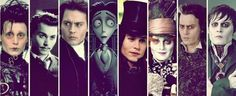 Johnny Depp in Burton's Movies