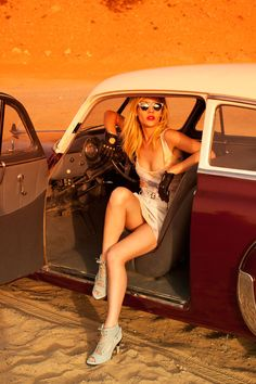 Liza by Ragnar Hartvig for Mag Magazine - Vintage Classic Cars and Girls