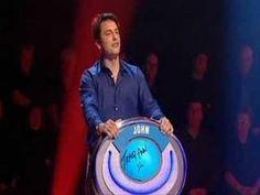John barrowman singing the Doctor Who theme tune. I love that David starts everyone backing him up!