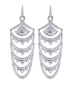 The Bridesmaids' Stephen Webster Couture Diamond NY Earrings / The TOO GLAM Wedding