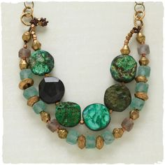 Evergreen Gleam Necklace ❤ liked on Polyvore