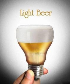 """Light Beer"" anyone?"