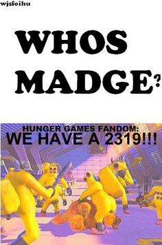 Hunger Games. Who's Madge?