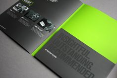 Corporate  Events Folder by James West, via Behance