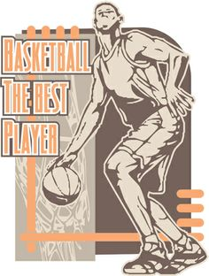 The Best Player Basketball Graphic is completely and instantly customizable  in CorelDraw or Illustrator! Yougraph · Basketball T-shirt Designs d21d031b22b9e