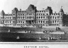 Coatham Hotel, Redcar, as it used to be