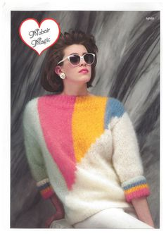 Image result for eighties sweater mohair