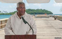 Alcalde de Humacao Reinaugura Muelle de Punta Santiago