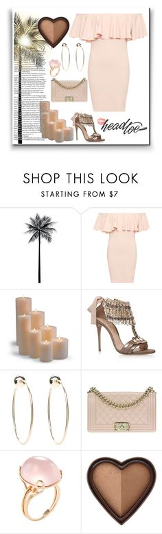 """""""Summer 🌞🎆🍹"""" by selena-styles-ibtissem23 ❤ liked on Polyvore featuring WearAll, Frontgate, Casadei, Bebe, Chanel, Goshwara and Too Faced Cosmetics"""