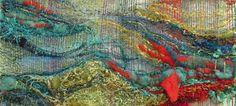 gorgeous saori weaving