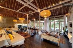 Stunning javanes riciefield villa in North Kuta
