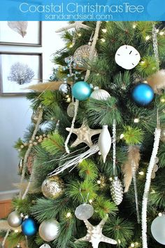 Coastal Christmas Tree @Sand and Sisal