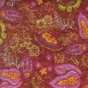 I don't much care for the purple/lavender family of colors.  I like the pattern and multi color quality of this fabric.  Does that make sense?