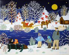 Christmas Elisabeth Davy Bouttier  260-le-pere-noel.jpg (945×768)