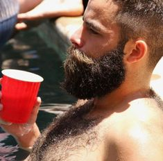 Best Picture For hairy chest tattoo For Your Taste You are looking for something, and it is going to Beards And Mustaches, Beard And Mustache Styles, Beard No Mustache, Hair And Beard Styles, Moustaches, Great Beards, Awesome Beards, Hairy Men, Bearded Men