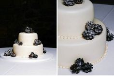 Winter Wedding Cakes | Intimate Weddings - Small Wedding Blog - DIY Wedding Ideas for Small and Intimate Weddings - Real Small Weddings