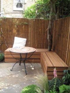 garden bench idea