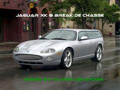 jaguar xkr 8 shooting break
