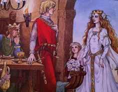 Trina Schart Hyman - love this beautiful illustration from St. George and the Dragon!