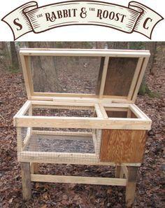 Rabbit Hutch Plans, Rabbit Hutches, Diy Guinea Pig Cage, Guinea Pigs, Rabbit Toys, Bunny Rabbit, Basement Storage Shelves, Bunny Cages, Raising Rabbits