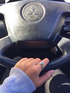 Favorite birthstone ring  #pandora #birthstone #ring