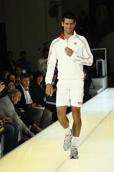 Novak Djokovic Suits Up for Uniqlo - Heard on the Runway - WSJ