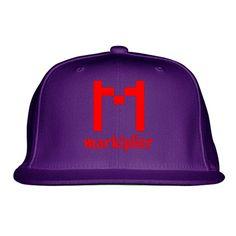 Markiplier Logo Embroidered Snapback Hat