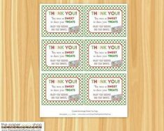 DIY INSTANT DOWNLOAD Printable Cookie by ThePaperGiraffeShop, $5.00 Thank You Tags, Thank You Gifts, Christmas Cookies, Christmas Holidays, Swap Party, Cookie Exchange Party, Cookie Swap, Printed Materials, Favor Tags
