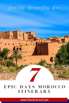The perfect itinerary for 7 days in Morocco including the best hikes and Instagram photo spots. #morocco #NorthAfrica #africa | things to do in Morocco | Morocco Instagram photo spots | Morocco photography | 7 days itinerary Morocco | Morocco in 7 days | Morocco hikes | Morocco | Morocco road trip | Morocco with kids | Morocco family holidays | Morocco photoshoot | road trip Morocco