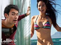 Janet Hsieh and George Young: Who wears the pants in their relationship? - The Newsroom - Lollipop George Young, Bikinis, Swimwear, Relationship, How To Wear, Pants, Fashion, Bathing Suits, Trouser Pants