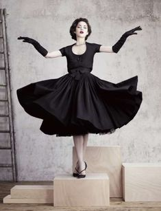 Marion Cotillard for Dior Magazine 3  great studio set up with props